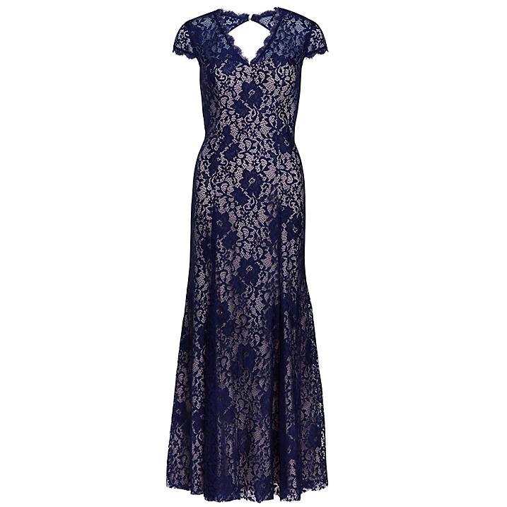 بالصور فساتين دانتيل طويله , اروع الفساتين الطويلة للبنات 1002 5