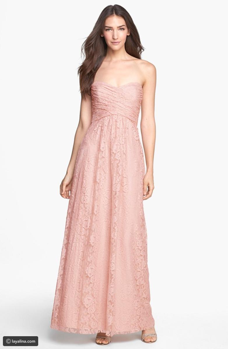 بالصور فساتين دانتيل طويله , اروع الفساتين الطويلة للبنات 1002 7