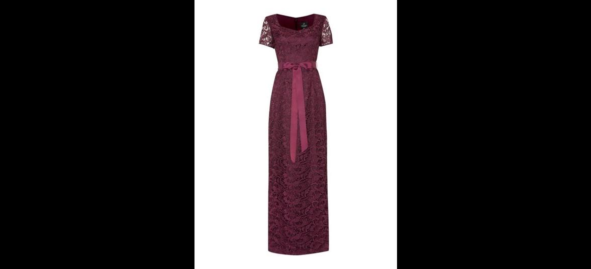 بالصور فساتين دانتيل طويله , اروع الفساتين الطويلة للبنات 1002