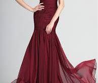 صور فساتين شيفون فخمه , افضل الفساتين الشيفون