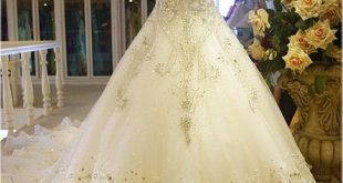 صوره فساتين افراح للمحجبات , احلى فستان عروسه