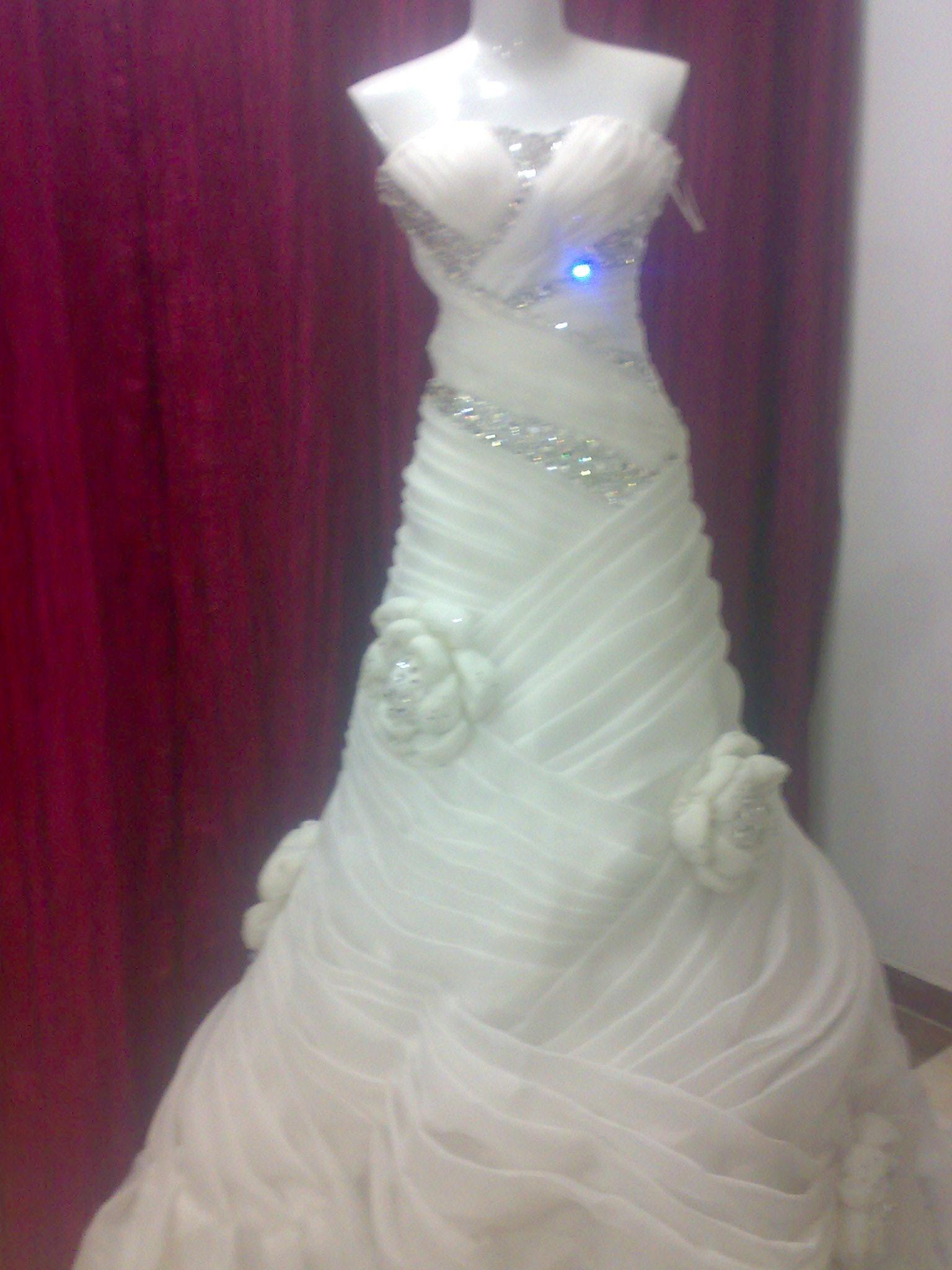 بالصور فساتين افراح للمحجبات , احلى فستان عروسه 1025 3