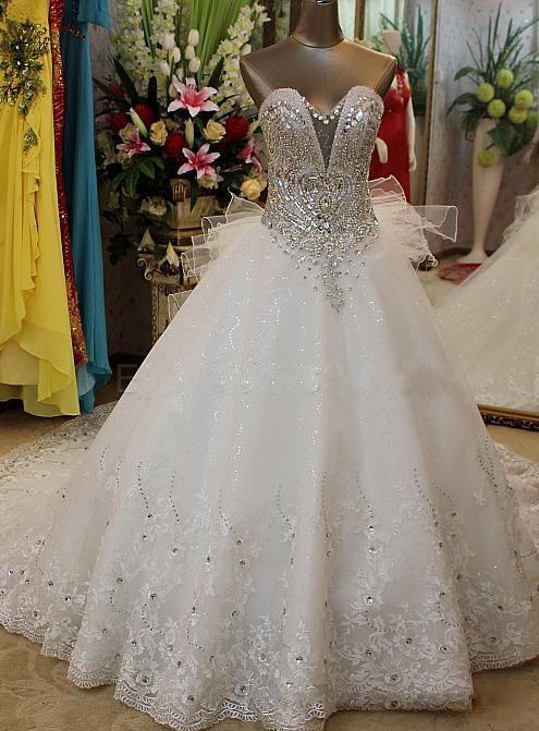 بالصور فساتين افراح للمحجبات , احلى فستان عروسه 1025 5