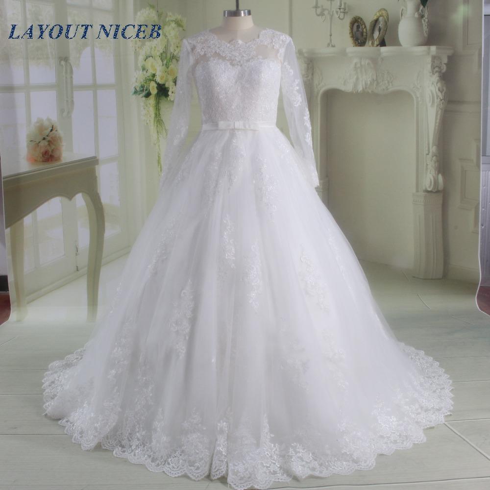 بالصور فساتين افراح للمحجبات , احلى فستان عروسه 1025 7