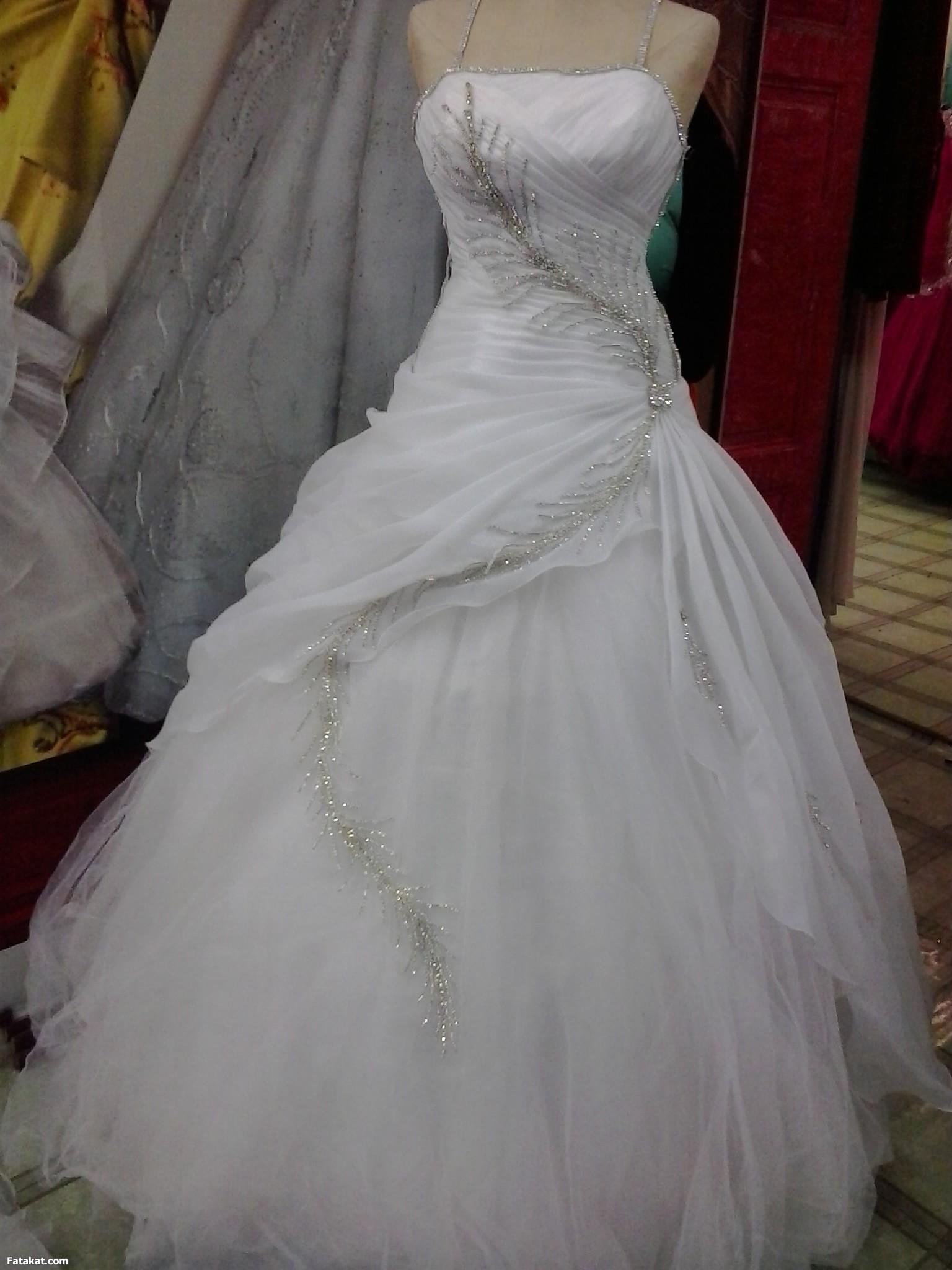 بالصور فساتين افراح للمحجبات , احلى فستان عروسه 1025 9