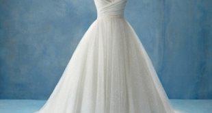 صوره صور فساتين اعراس , شكل جديد لفستان عروسه