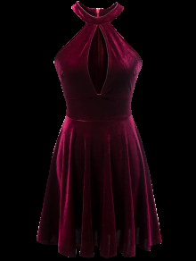 بالصور فساتين قطيفة للمحجبات , افضل فستان قطيفه 1033 2
