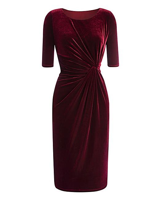 بالصور فساتين قطيفة للمحجبات , افضل فستان قطيفه 1033 3