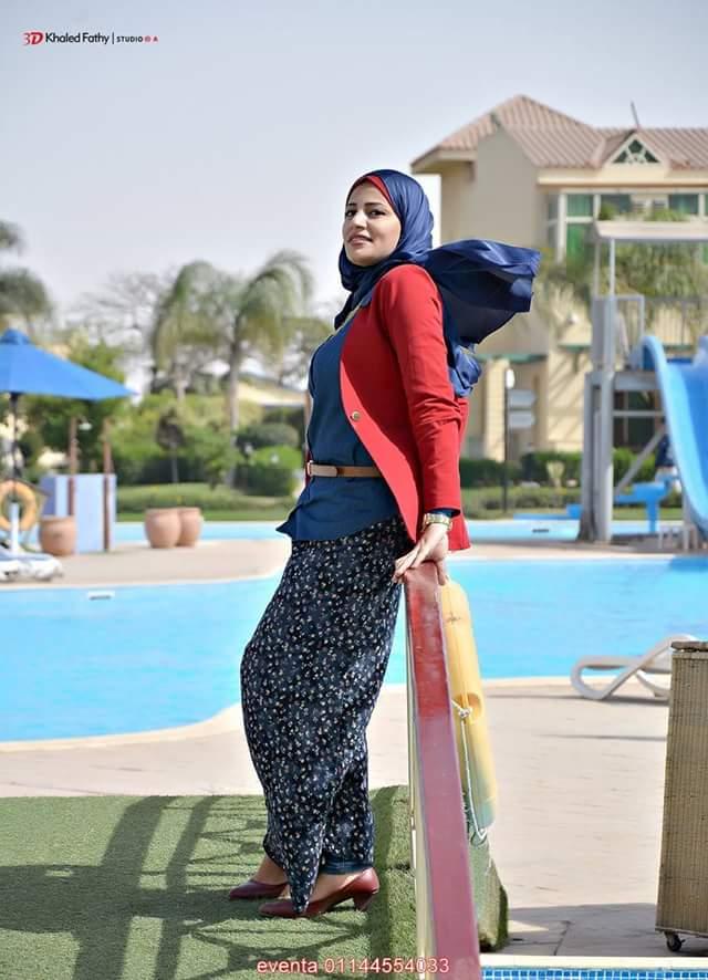 بالصور فساتين بحر للمحجبات , ملابس للصيف للحجاب 1041 1