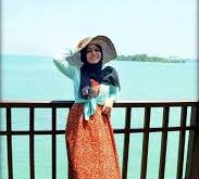 صورة فساتين بحر للمحجبات , ملابس للصيف للحجاب