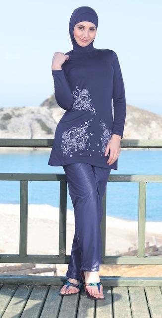 بالصور فساتين بحر للمحجبات , ملابس للصيف للحجاب 1041 2