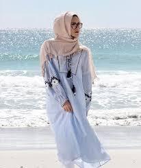 بالصور فساتين بحر للمحجبات , ملابس للصيف للحجاب 1041 5