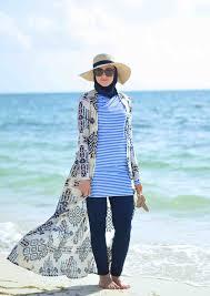 بالصور فساتين بحر للمحجبات , ملابس للصيف للحجاب 1041 9