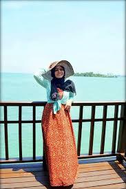 بالصور فساتين بحر للمحجبات , ملابس للصيف للحجاب 1041