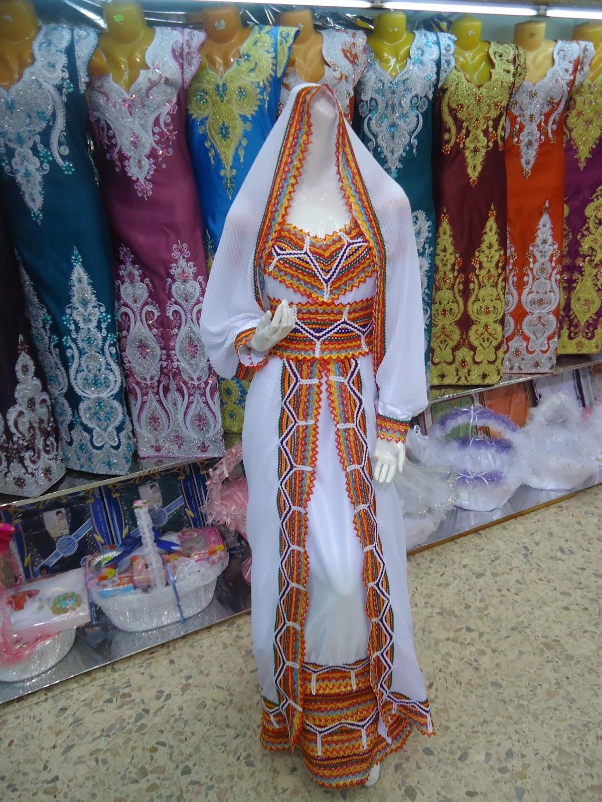 بالصور فساتين جزائرية منزلية , صور لبس جزائرى 1049 6