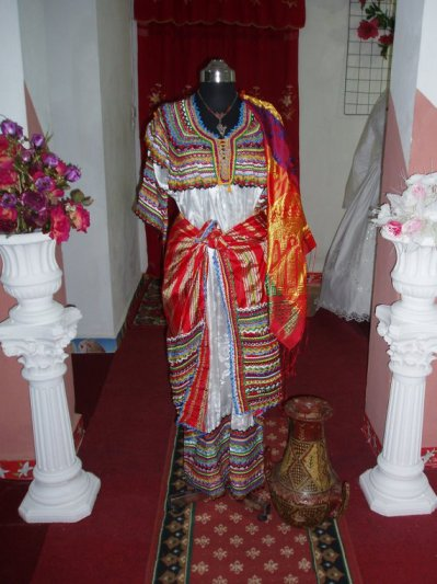 بالصور فساتين جزائرية منزلية , صور لبس جزائرى 1049 8