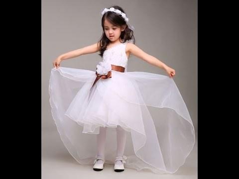بالصور فساتين افراح للاطفال , فستان اطفال زفاف 1055 1