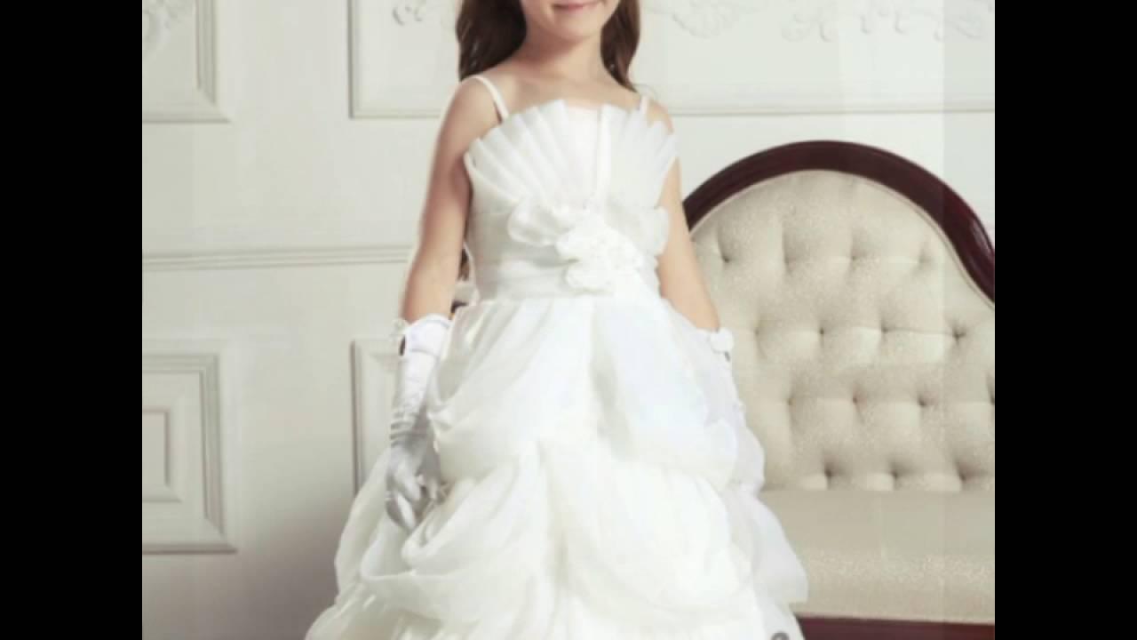 بالصور فساتين افراح للاطفال , فستان اطفال زفاف 1055 4