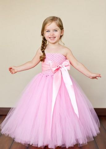 بالصور فساتين افراح للاطفال , فستان اطفال زفاف 1055 6
