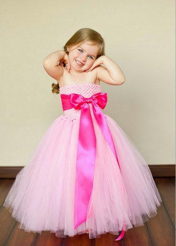 بالصور فساتين افراح للاطفال , فستان اطفال زفاف 1055 7