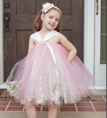 بالصور فساتين افراح للاطفال , فستان اطفال زفاف 1055