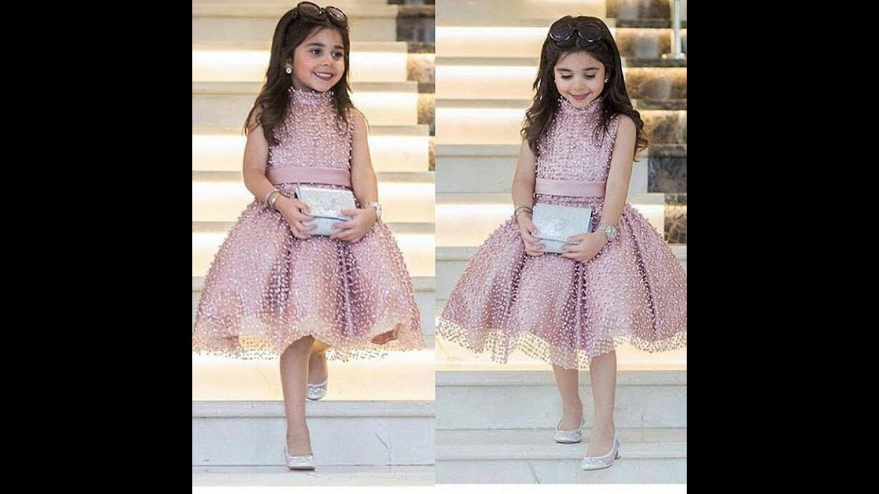 بالصور فساتين اطفال قصيره , فستان قصير للبنات 1056 1