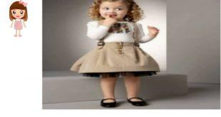 فساتين اطفال قصيره , فستان قصير للبنات