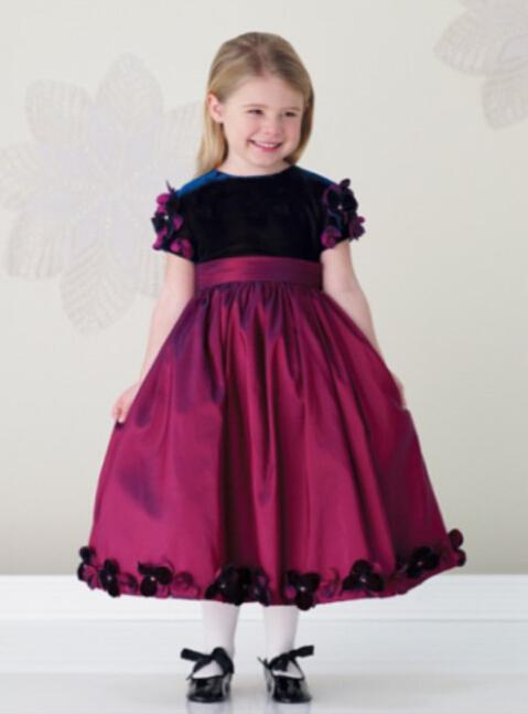 بالصور فساتين اطفال قصيره , فستان قصير للبنات 1056 4