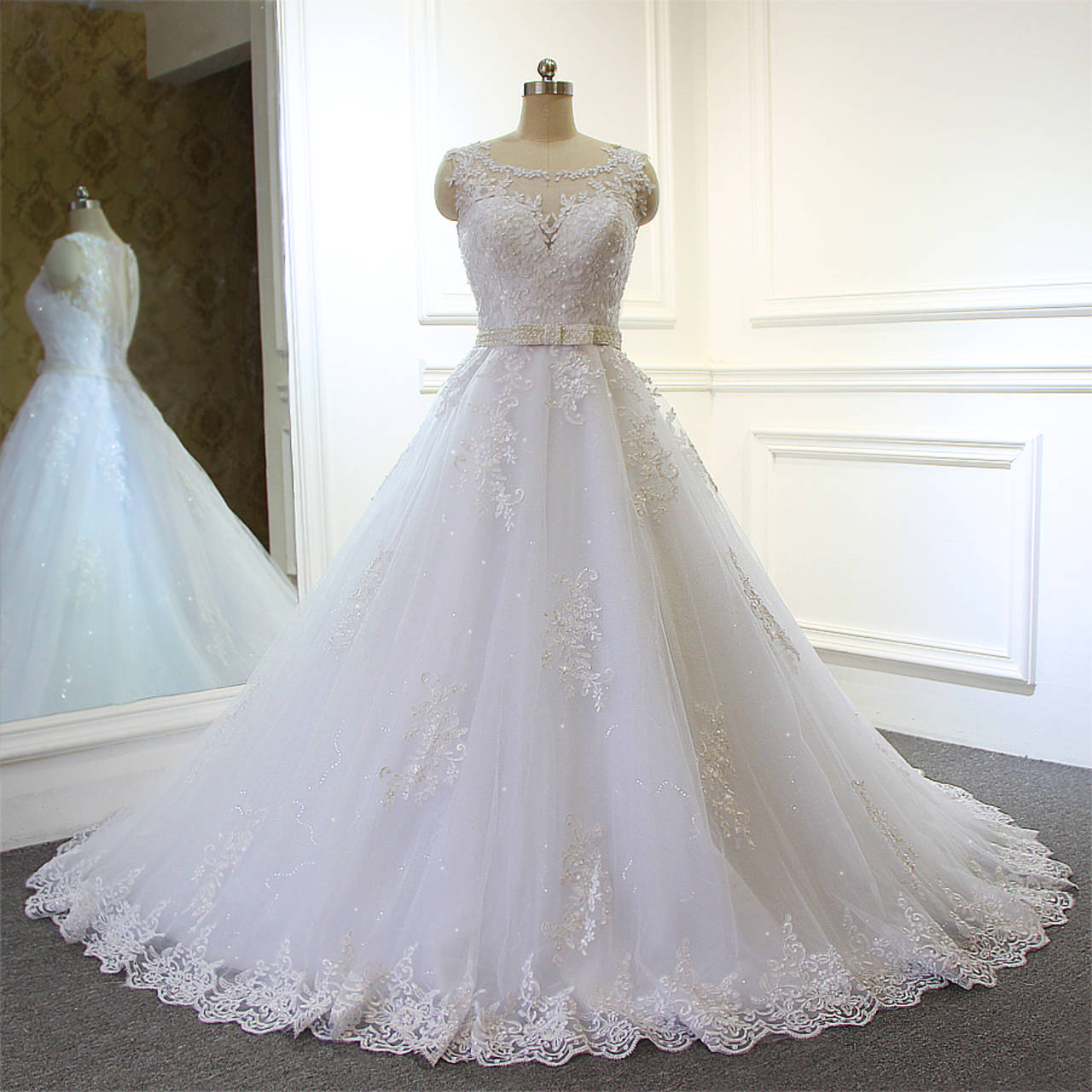 بالصور صور فساتين افراح , من اجمل فستان العروسه 1075 1