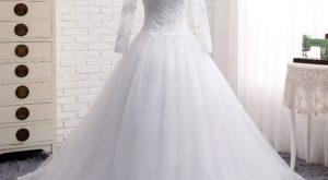صوره صور فساتين افراح , من اجمل فستان العروسه
