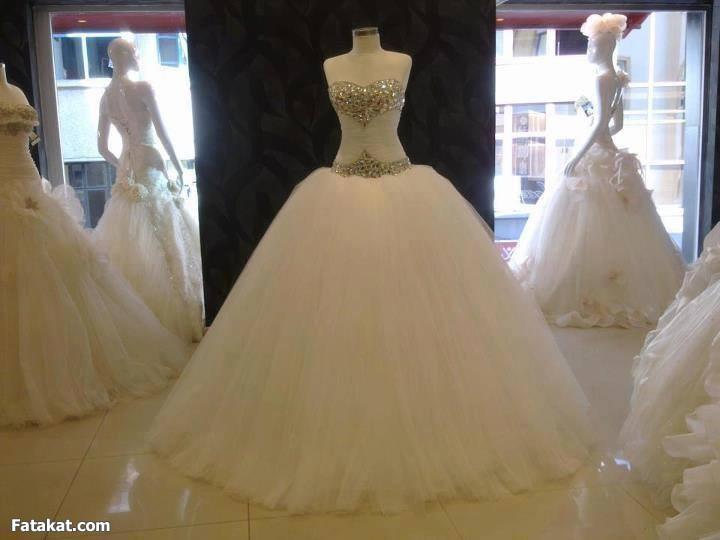 بالصور صور فساتين افراح , من اجمل فستان العروسه 1075 6