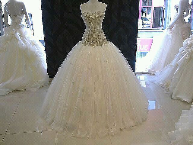بالصور صور فساتين افراح , من اجمل فستان العروسه 1075 8