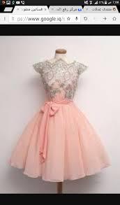 بالصور فساتين قصيرة منفوشة , اجمل فستان منقوش 1078 1