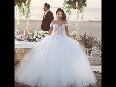 بالصور اجمل فساتين الاعراس , تصاميم حديثه لفساتين الزفاف 1085 1