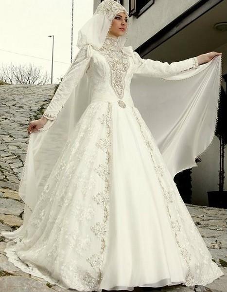 صور فساتين زفاف تركية , اجمل فستان فرح لاجمل عروسة