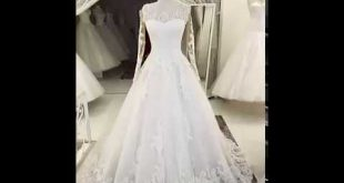 صوره فساتين زفاف تركية , اجمل فستان فرح لاجمل عروسة