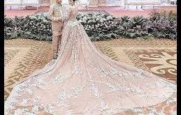 صوره احدث فساتين الزفاف , فساتين انيق للاعراس
