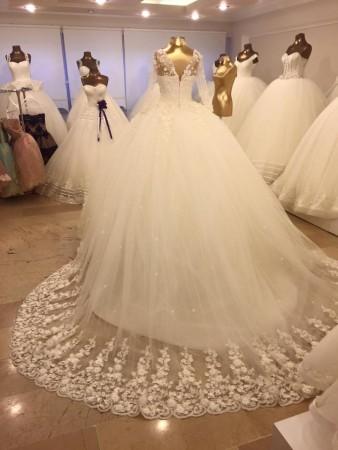 صورة احدث موديلات فساتين الزفاف , ازياء فساتين اعراس 1098 14