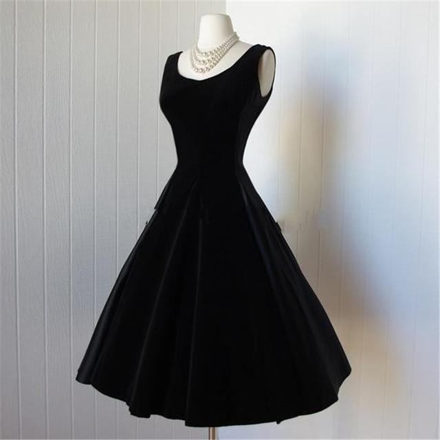صوره فساتين سوداء , فستان سورية باللون الاسود