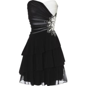 بالصور فساتين سوداء , فستان سورية باللون الاسود 1101 2