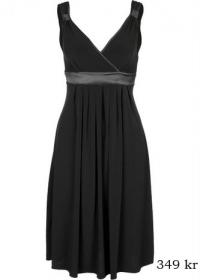 بالصور فساتين سوداء , فستان سورية باللون الاسود 1101 3