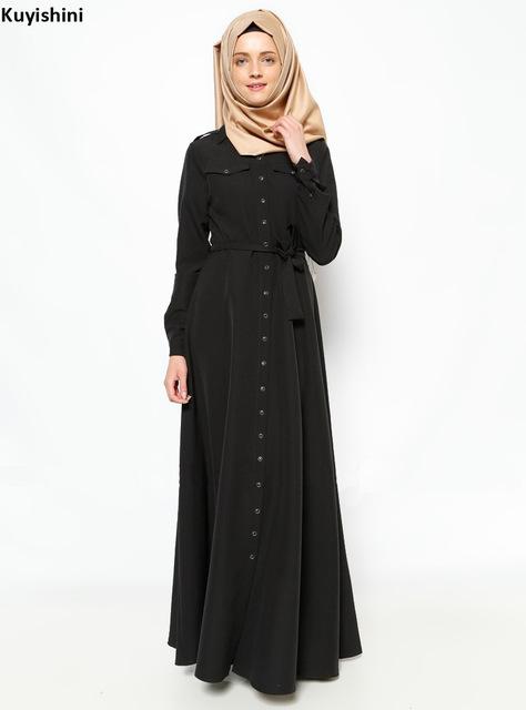 بالصور فساتين سوداء , فستان سورية باللون الاسود 1101 9