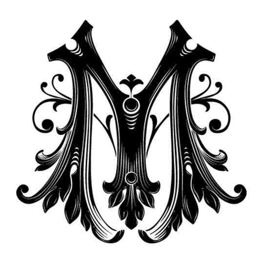 بالصور حرف m على شكل قلب , اجمل صور حرف M 11024 14