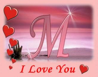 بالصور حرف m على شكل قلب , اجمل صور حرف M 11024 4
