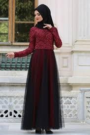 بالصور فساتين محجبات تركية للخروج , لبس للمحجبات تركي 1105 4