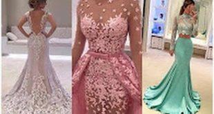 صور فساتين سهره جميله , موديلات فستان روعه