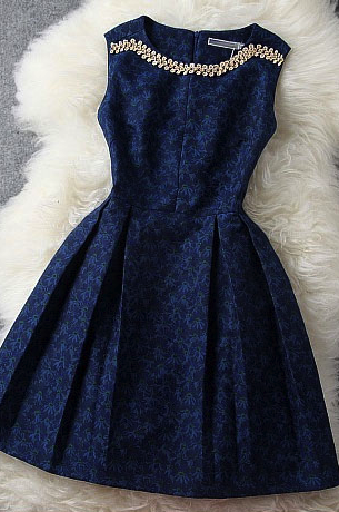 بالصور فساتين دانتيل انستقرام , افضل فستان دنتل 1115 3