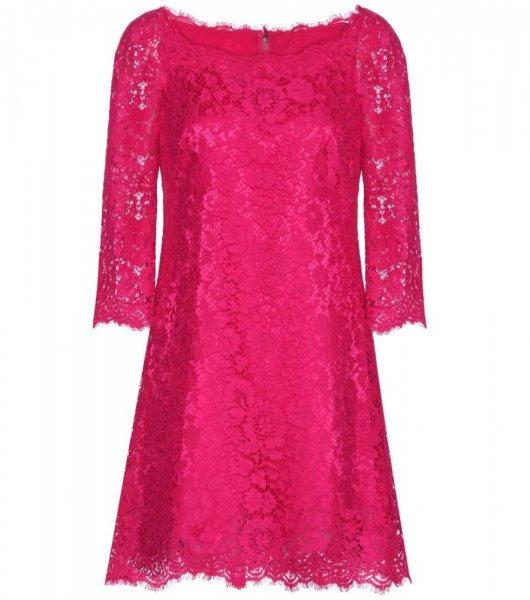 بالصور فساتين دانتيل انستقرام , افضل فستان دنتل 1115 5