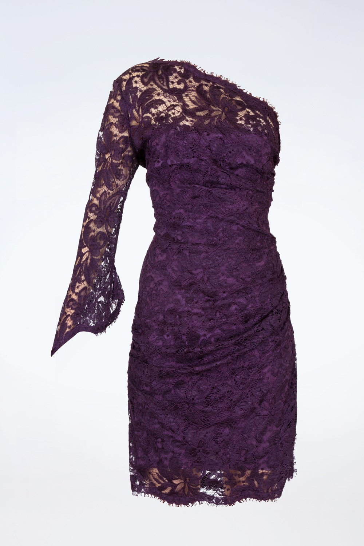بالصور فساتين دانتيل انستقرام , افضل فستان دنتل 1115 6