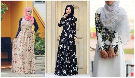 بالصور فساتين شيفون مشجر , تشكيلة لاجمل الفساتين المشجرة 1117 3